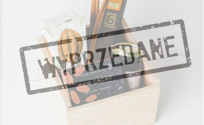 WYPRZEDANE Zestaw 3xChocolate & Wine