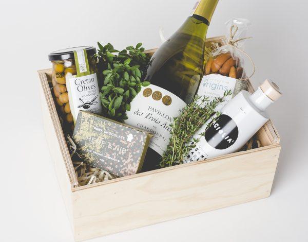 Zestaw Olives & Wine