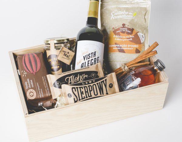 Zestaw Chestnut Honey & Wine