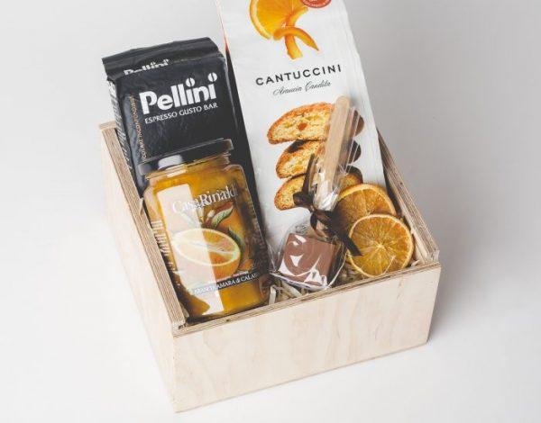Zestaw Cantuccini & Chockostic