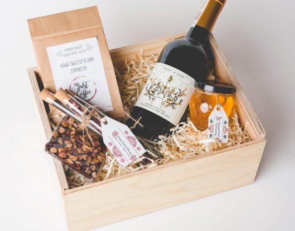 Zestaw Tea Selection & Wine