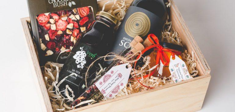 Zestaw Strawberry Chocolate & Wine