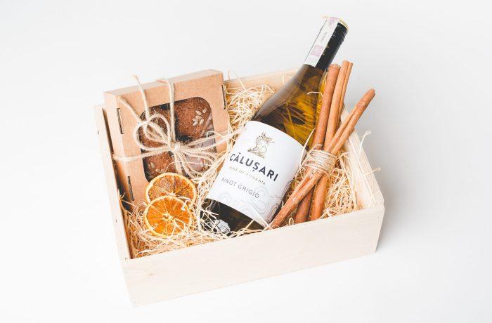 Zestaw Gingerbreads & Wine