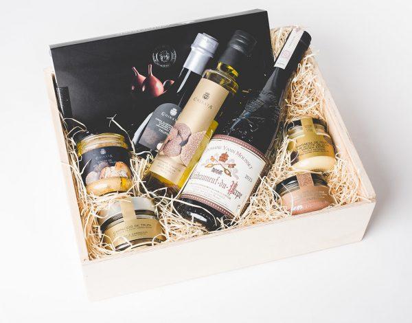 Zestaw Truffles, Figs & Wine