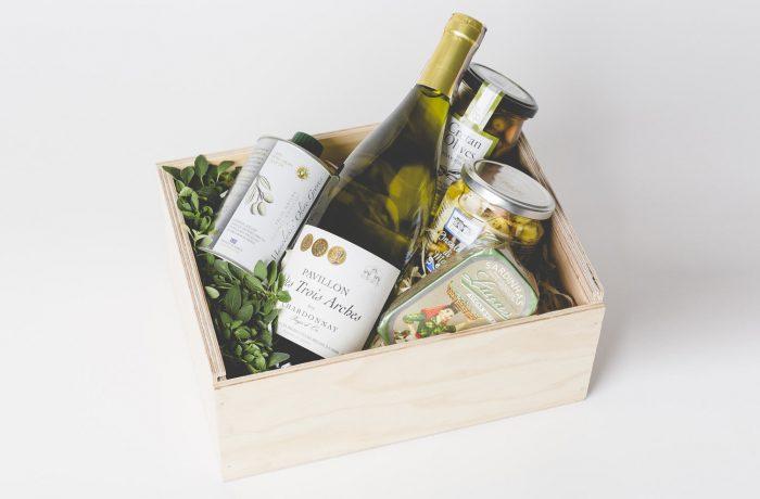 Zestaw Sea Fruit Salad & Wine