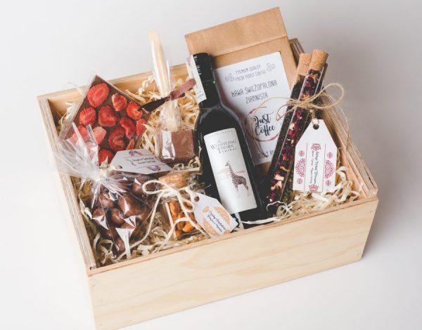 Zestaw 3xChocolate & Small Wine