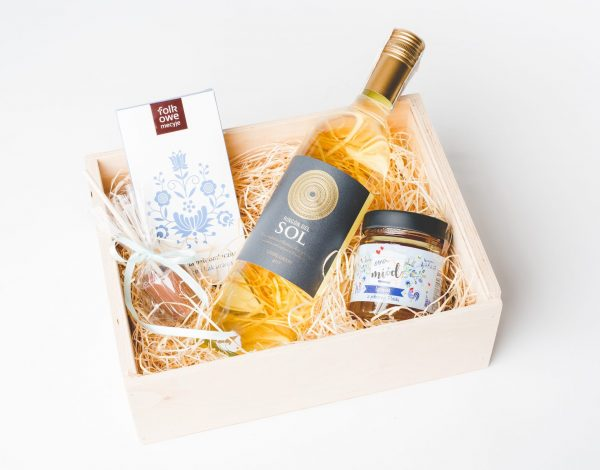 Zestaw Etno Honey & Wine