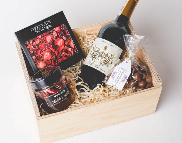 Zestaw Honey with Chilli & Wine