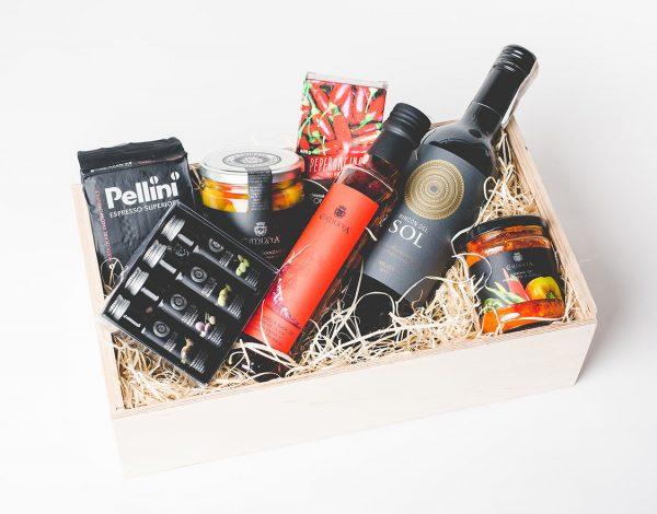 Zestaw 4xPaprica, Chilli & Wine