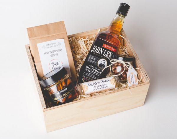 Zestaw Cinnamon Honey & Bourbon