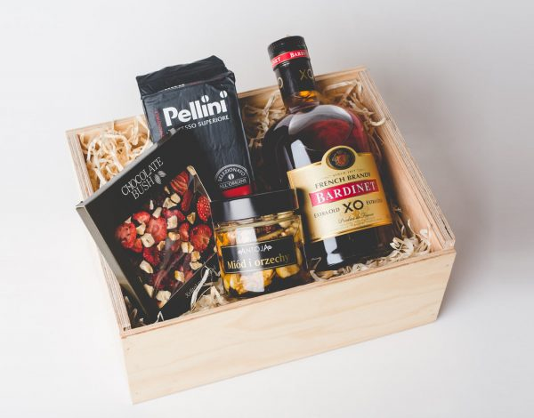 Zestaw Honey with Nuts & French Brandy XO