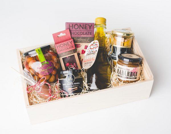 Zestaw Prezentowy Chestnut Honey & Maçanelha Olives